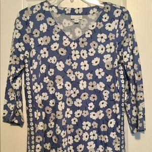 J. Jill cotton tunic
